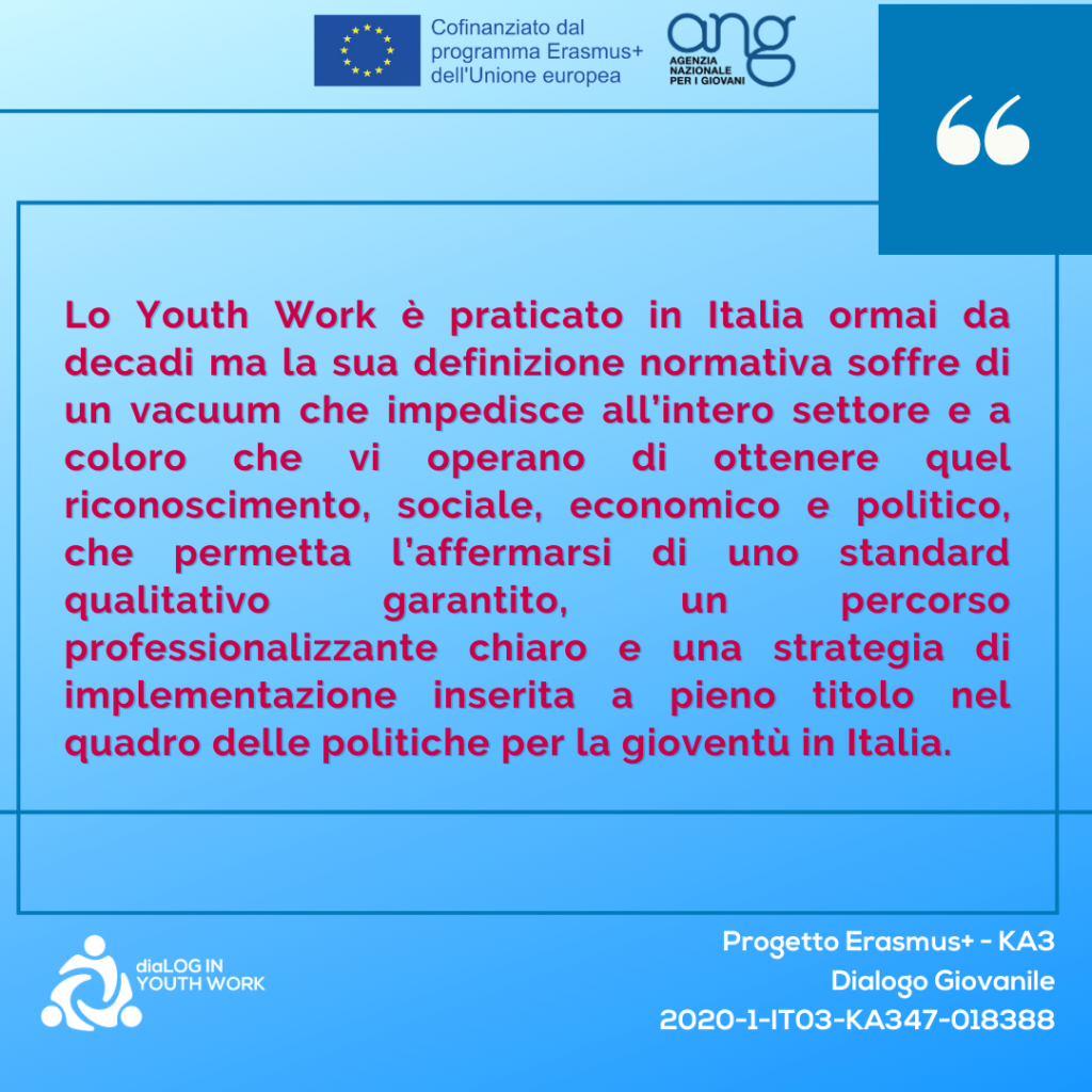 dialog in youth work giosef italy 2